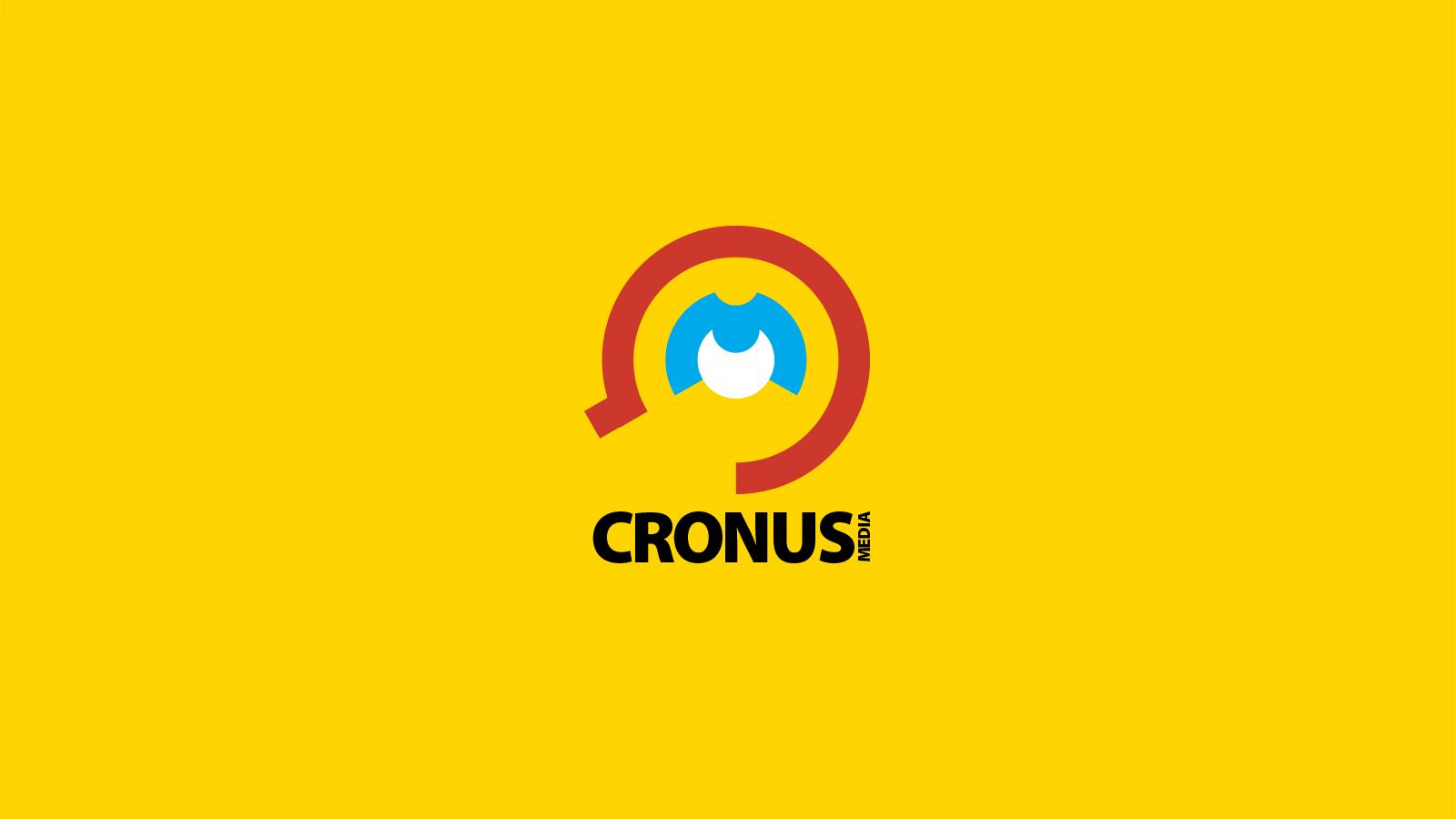 Branding logo design start up מיתוג ועיצוב לוגו לסטארט אפ Cronus Media
