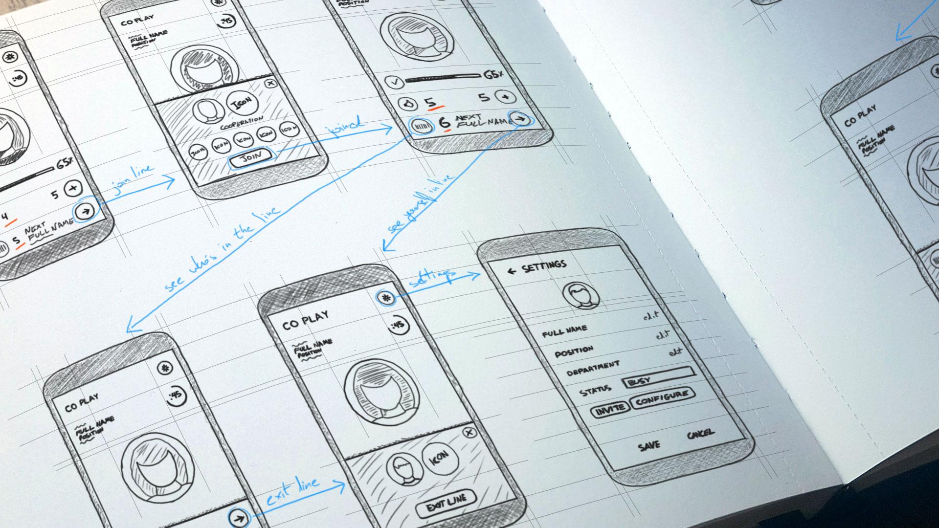 App & Web Design עיצוב אפליקציות ורשת co-play