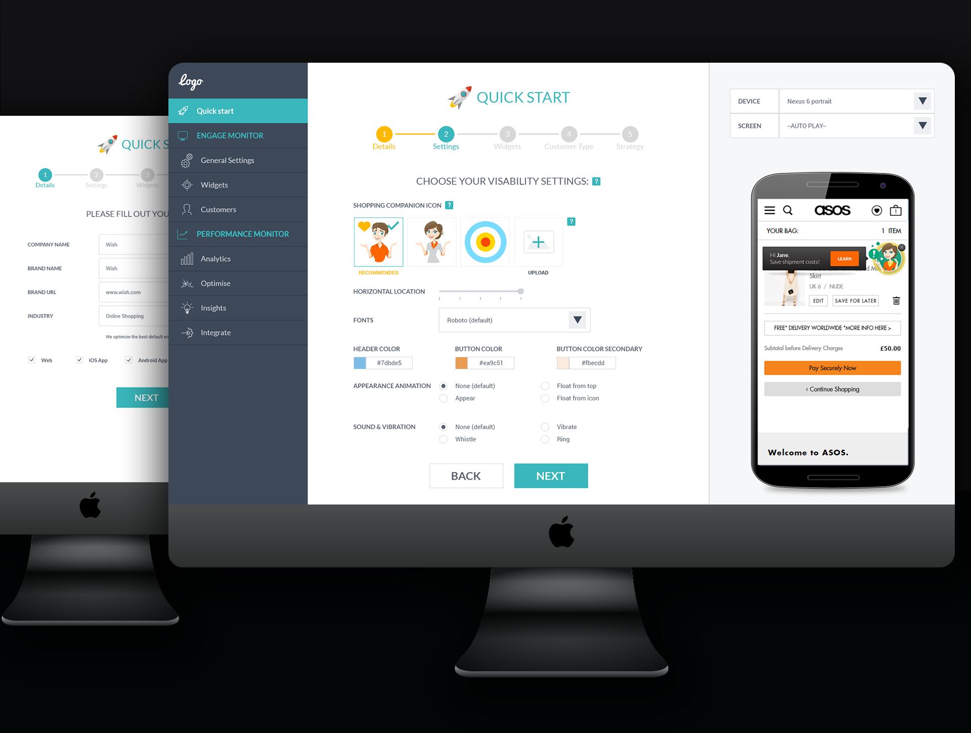 Startup webapp UI UX quickstart עיצוב מדריך שלבים סטארטאפ