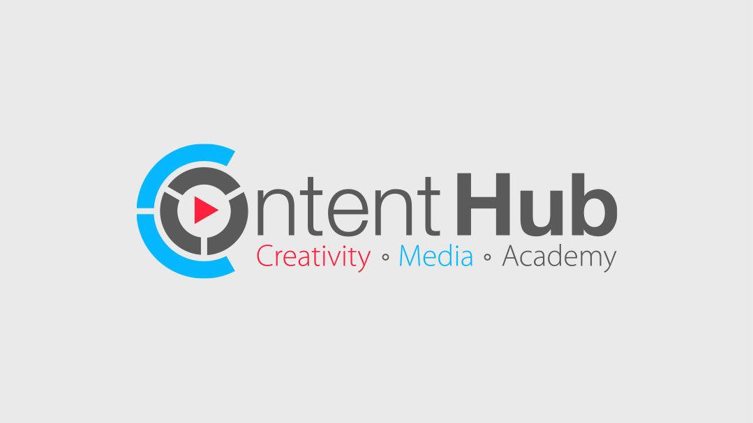 Logo content hub Herzeliya מיתוג חממת התוכן הבינתחומי הרצליה