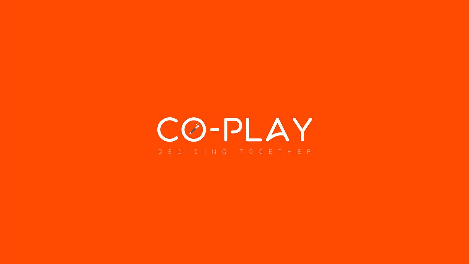 Logo design for startup עיצוב לוגו לסטארטאפ co-play