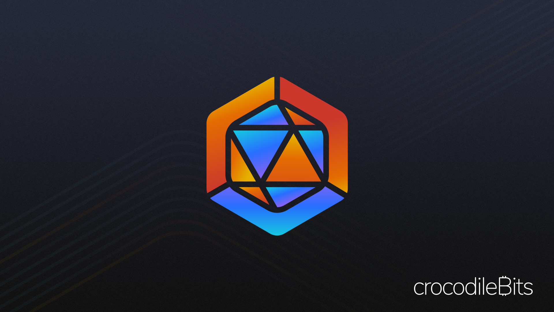 Logo and brand design crypto currency עיצוב לוגו ויצירת מותג מטבע קריפטוגרפי CrocodileBits