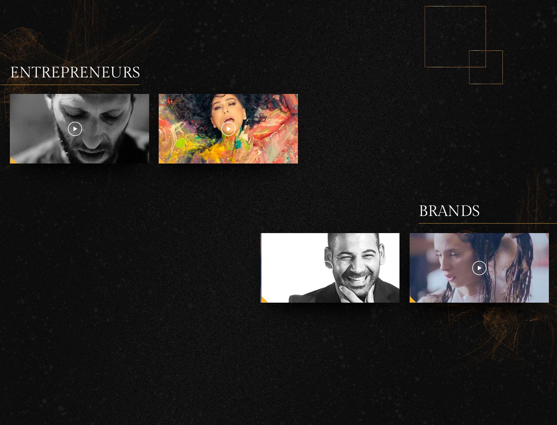 Webdesign video UI entrepreneur עיצוב אינטרנט ממשק וידאו יזם TalouLoren