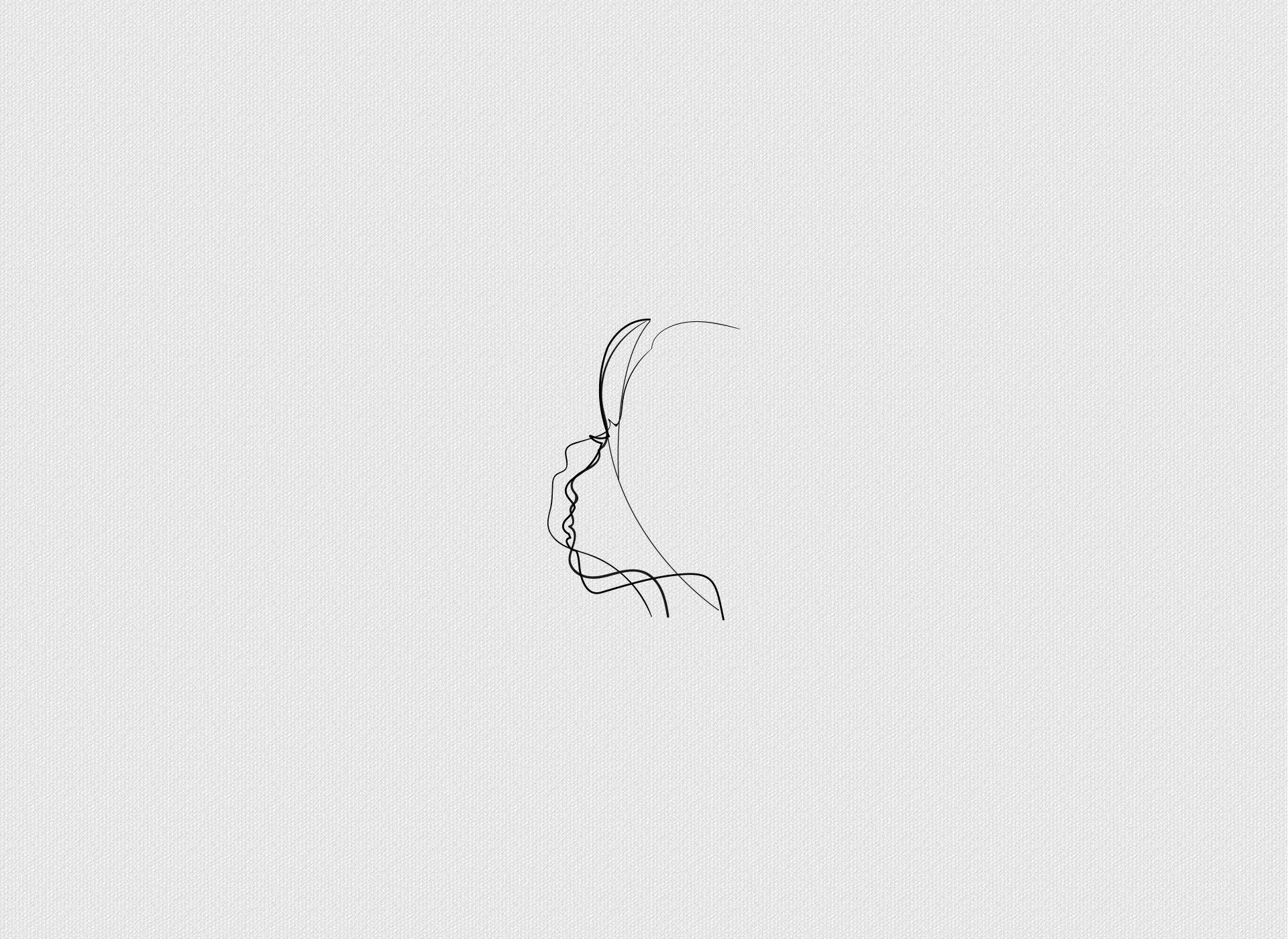 Logo design coaching line sketches סקיצות לוגו אימון עסקי