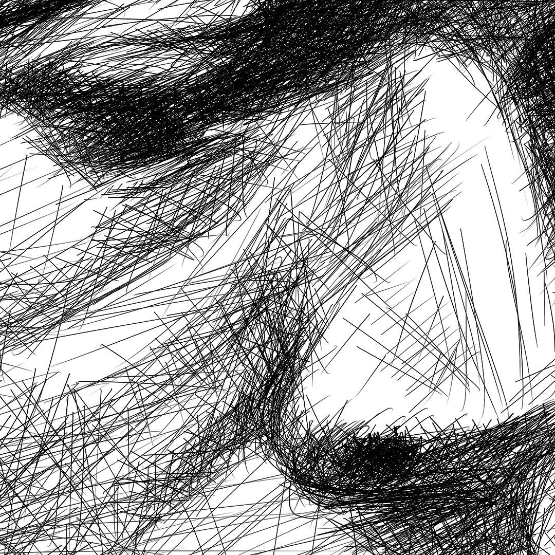 John coltrane line drawing digital pencil ציור קווי ג'ון קולטריין עיפרון דיגיטלי closeup 3